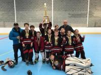 U-12 <em>Longford Hawks</em> - regulārā čempionāta uzvarētāji