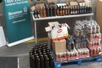 Dublinas ostā konfiscē kontrabandas alkoholu