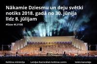 Līdz Dziesmu un deju svētkiem 40 dienas: būtiska informācija dalībniekiem