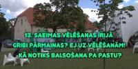 Jūsu vērtējumam pirmais video par gatavošanos Saeimas vēlēšanām