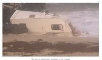 Vētra Ali plosās, gājusi bojā tūriste