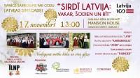 """Svinīgs sarīkojums """"Sirdī Latvija: vakar, šodien un rīt"""" Dublinā"""