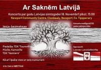 Koncerts par godu Latvijas valsts 100gadei