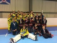 U-16 un U-12 komandas no Skotijas atved zelta un sudraba medaļas
