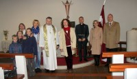 Latvijas simtgades pasākumus Īrijā ievada LELB svētku dievkalpojums