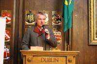 Vēstnieka Jāņa Sīļa apsveikums tautiešiem Īrijā