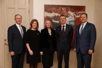 Latvijas Ārlietu ministrs tiekas ar PBLA valdes pārstāvjiem