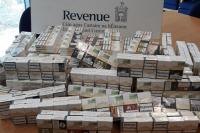 Latvijas valstspiederīgajam konfiscētas kontrabandas cigaretes