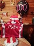 Latvijas karogs ceļos uz Mullingar