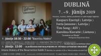 Baznīcu naktī varēs apmeklēt dievnamus  Latvijā un Dublinā