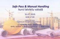 Safe Pass un Manual Handling kursi latviešu valodā