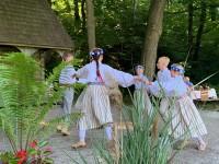 Sidrabenē ieskandināja XV Latviešu Dziesmu un deju svētkus