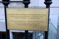Latvijas vēstniecība būs slēgta 5.augustā