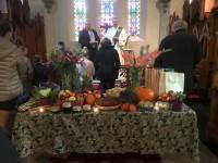 Kristus Apvienotās ev.lut. latviešu draudzes dievkalpojumi oktobrī