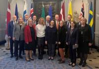Konferencē Īrija un NB8 valstis diskutē par sadarbību drošai, ilgtspējīgai un digitālai Eiropai