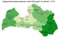 Reģistrētā bezdarba līmenis Latvijā joprojām ir 5,7%