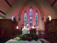 Pārpildīta baznīca un koncerts Valsts svētku dievkalpojumā Dublinā