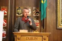 Latvijas vēstnieka Īrijā Jāņa Sīļa uzruna tautiešiem Valsts svētkos