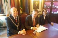 Latvijas vēstnieka Īrijā Jāņa Sīļa reģionālā vizīte Korkā