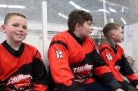 <em>Midland Thunder</em> U-12 un U-14 komandas spēlē Belfāstā