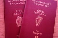 Īrijas pilsonība piešķirta vēl 67 cilvēkiem no Latvijas
