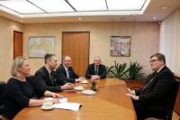 Ministrs J.Pūce pārrunā diasporas aktualitātes ar PBLA vadību
