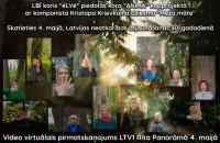 Saulkrastu koris ANIMA un dziedošie latvieši pasaulē sveic Latviju