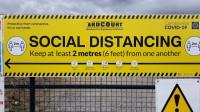 Noraida ieteikumu sociālo distanci samazināt līdz vienam metram