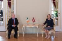 I.Mūrniece Īrijas vēstniekam: diaspora ir prioritāte mūsu parlamentārajā dialogā