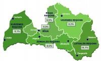 Jūlijā reģistrētā bezdarba līmenis Latvijā palicis nemainīgs