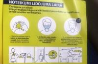 No nākamās nedēļas ieceļotājus Latvijā par drošības pasākumiem Covid-19 ierobežošanai apziņos ar SMS