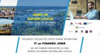 """""""Darbs un karjera Latvijā"""" – iespēja atrast darbu IT un finanšu jomā"""