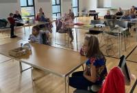 """Ievērojot noteikumus, """"Zīļuka"""" bērni mācās klātienē"""