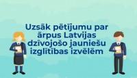 Uzsāk pētījumu par ārpus Latvijas dzīvojošo jauniešu izglītības izvēlēm