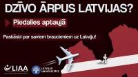Aptauja par ārzemēs dzīvojošo tautiešu ceļošanas paradumiem  un pieredzi