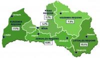 Reģistrētā bezdarba līmenis Latvijā novembrī palicis nemainīgs - 7,4%