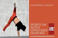 ELA saruna tiešsaistē: Sports un aktīvs dzīvesveids diasporā