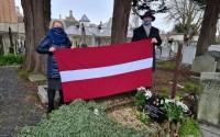 Latvijas vēstniecība Īrijā godina diplomāta J.Meža piemiņu