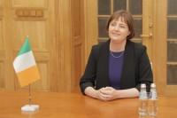 Jaunā Īrijas vēstniece akreditācijas vizītē apmeklē ĀM