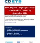Bezmaksas angļu valodas apmācība Dublinā