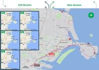 Ieviestas pirmās pārmaiņas Dublinas autobusu satiksmē
