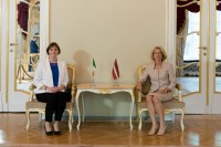 I. Mūrniece uzsver ciešo sadarbību ar Īriju diasporas jautājumos