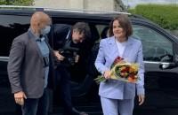 Īrijā viesojas Baltkrievijas opozīcijas līdere S.Tihanovska