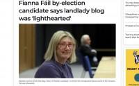 Fianna Fáil partijas senatorei Deirdre Conroy maz izredžu uzvarēt vēlēšanās