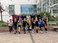 Diasporas deju kopu vadītāji no Eiropas tiekas Frankfurtē
