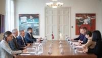 Latvijas un Īrijas amatpersonas pārrunā aktuālos ES jautājumus