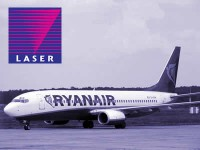 Drzum Ryanair vars makst ar ar <em>Laser</em> karti