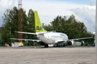 airBaltic atsaks no check-in maksas lidost