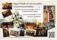 Rgas Vlandes zvanu ansamba koncerts Dublin