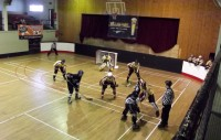 Veiksme novrsusies no inline hokeja komandas <em>Athlone Hawks</em>